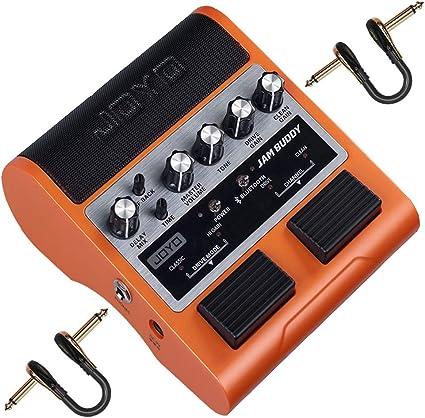JOYO JAM Buddy amplificador de guitarra eléctrica, Bluetooth ...