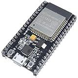 DiyStudio Bluetooth開発ボード WiFi 開発ボード CP2102 ESP-32 ESP-32S開発ボード2.4GHzデュアルモードWiFi + BluetoothアンテナモジュールAP、STA、およびAP + STA 3モード