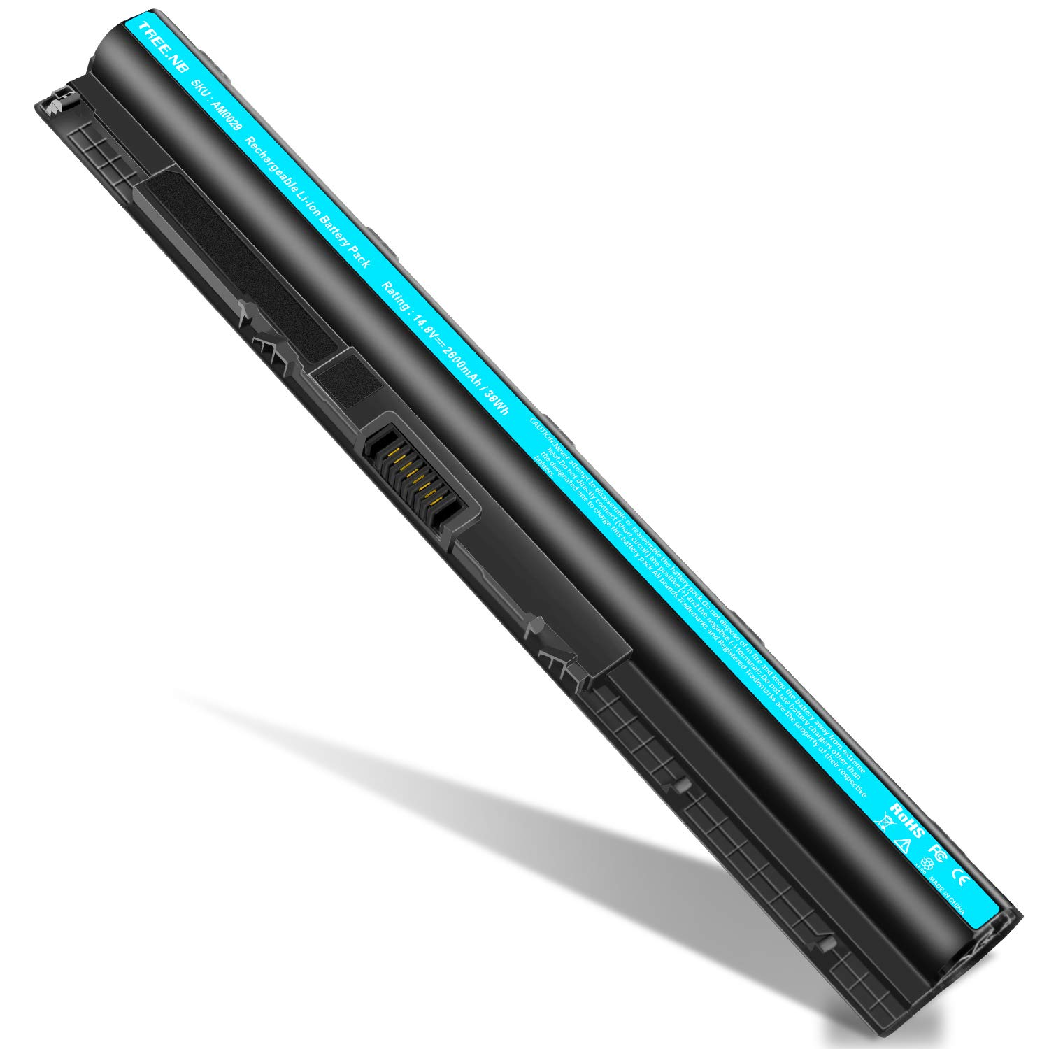 M5Y1K Battery for 4-Cell Lithium-Ion Battery for Dell Inspiron, Latitude and Vostro (type M5Y1K)