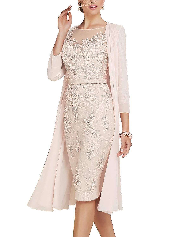 82e989b3b00a0 Mother Of The Groom Tea Length Dresses With Jackets