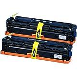 2本セット Canon キヤノン CRG-331BK 【互換トナーカートリッジ】  印刷枚数:ブラック 約2,400枚 (A4判5%標準原稿) 対応機種:LBP-7100C / LBP-7110C / MF8230Cn / MF8280Cw「JAN:4582480216226 」 インクのチップスオリジナル