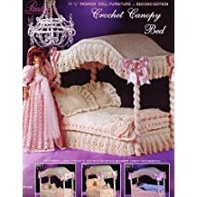 Crochet Canopy Bed: Fashion Doll Collection Furniture Vol 1