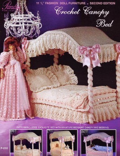 [Crochet Canopy Bed: Fashion Doll Collection Furniture Vol 1] (2007 Canopy Bed)