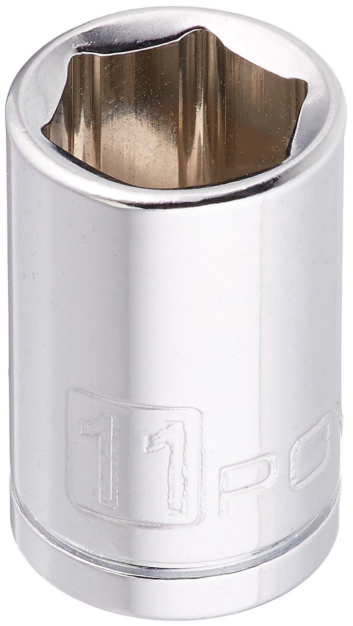 Metric Socket 11mm 648288 Powerbuillt Powerbuilt 1//4 Drive 6 Pt