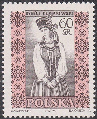[Folk Costumes 60gr Poland Cancelled Postage Stamp] (Postage Stamp Costume)