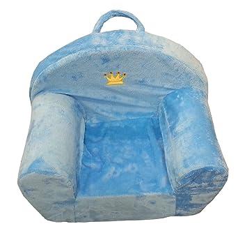 Kindersessel blau  Sessel Kinder Kindersessel Couch Plüschsessel Hocker für Kinder ...