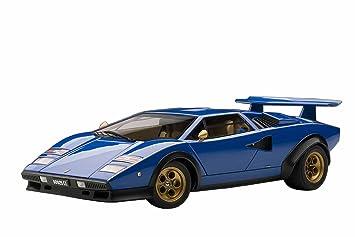 Lamborghini Countach Lp500s Walter Wolf Edition Blau 1 18 Amazon