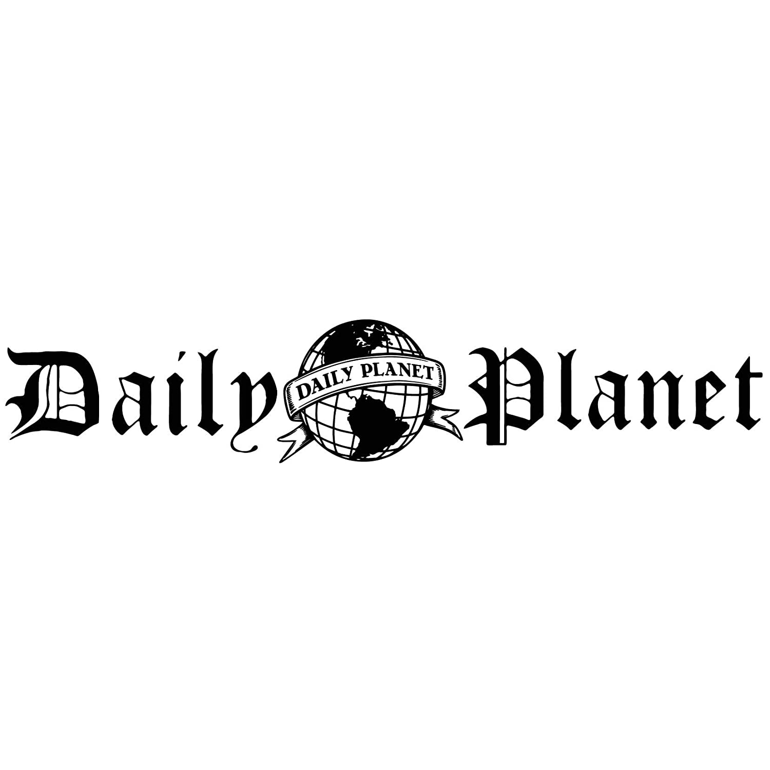 Amazoncom Daily Planet Logo Vinyl Decal Sticker For Wall