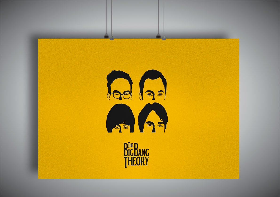 Amazon.com: Poster THE BIG BANG THEORY Wall Art 02: Posters & Prints