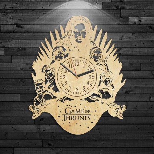Reloj de madera de Juego de Tronos, regalo de lannister para ...