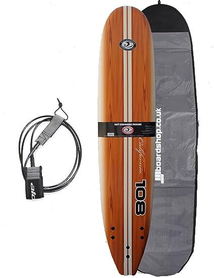 California Board Company Classic , 108 para tabla de surf y accesorios antirrobo para motocicletas 274
