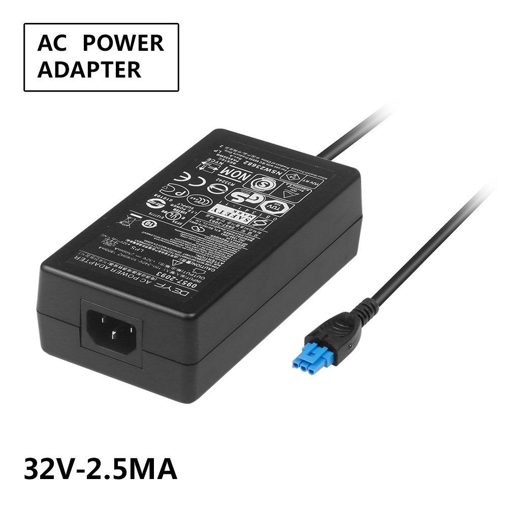 DEYF 32V 2500mA 80W 0957-2262 0957-2093 0957-2283 AC Power Adapter For HP Officejet Pro 8000 8500A K5300 K5400 K5400TN K5400DN K5400DTN K8600 K8600DN L7550 L7580 L7590 L7650 L7680 L7750 L7780 Printer
