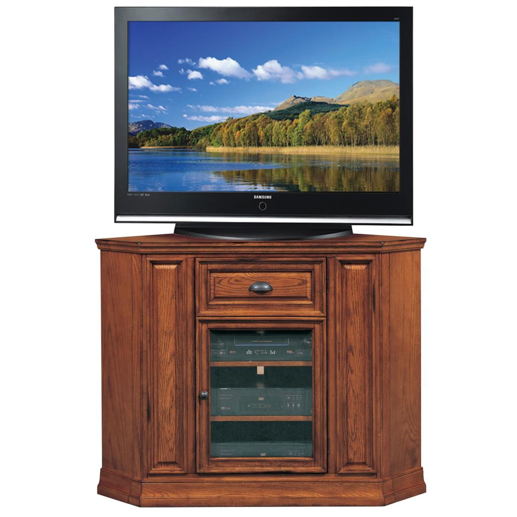 Leick Riley Holliday Mission Corner Tv Stand With Storage
