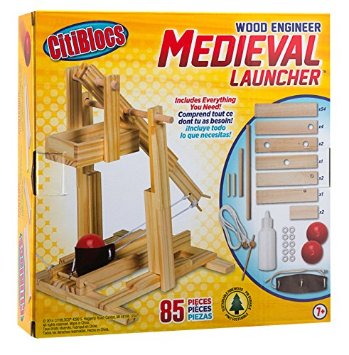 Citiblocs Wood Engineer Medieval Launcher