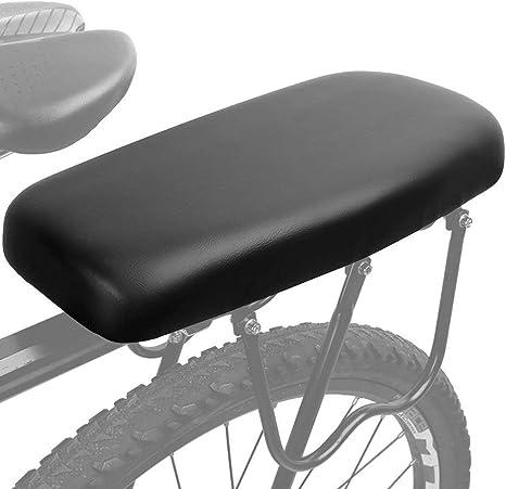 ALIXIN-10028 Accesorios para bicicletas de montaña,asiento trasero de bicicleta,asiento grueso eléctrico trasero para niños,accesorios de seguridad para bicicletas al aire libre.(adultos y niños): Amazon.es: Deportes y aire libre