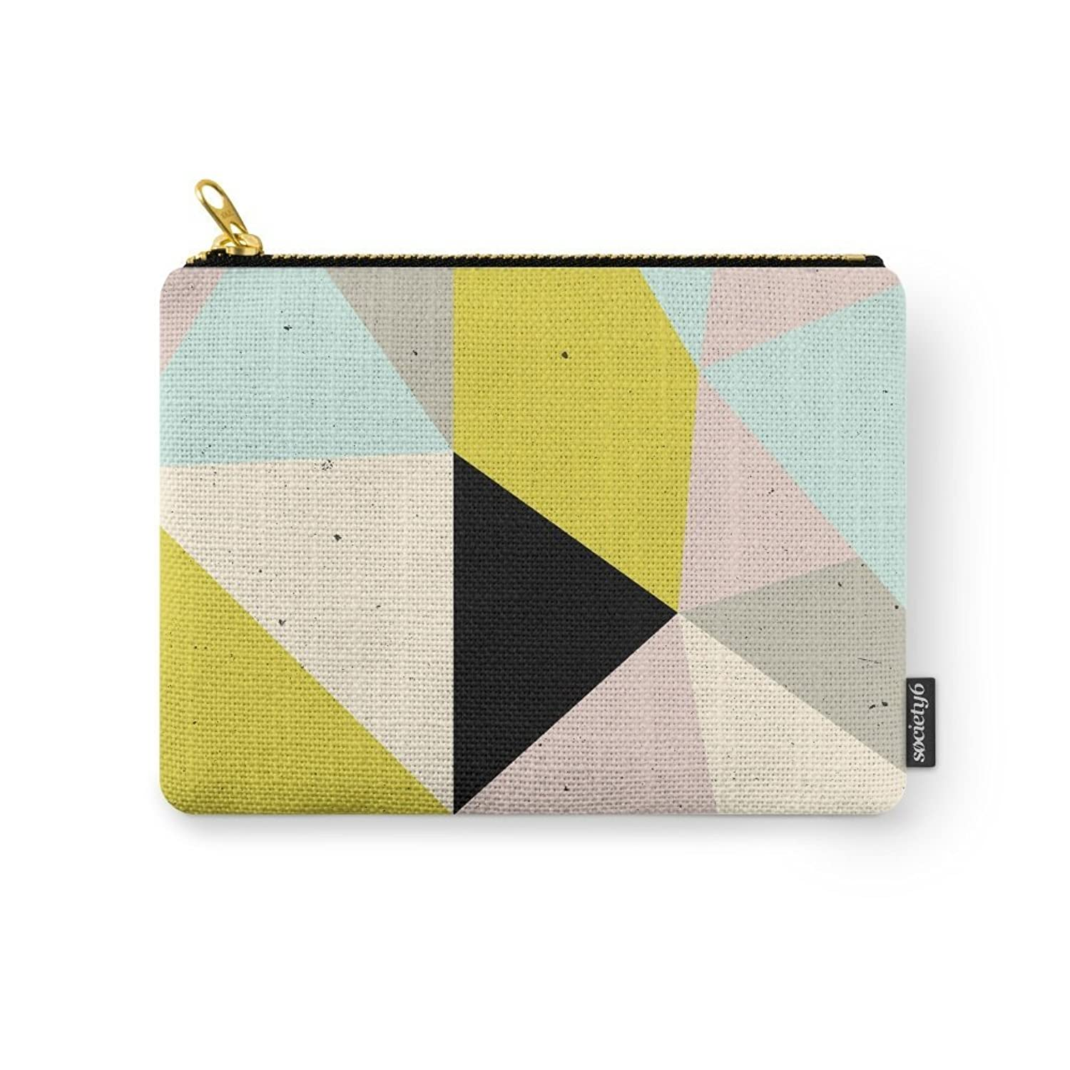 Society6 Geometric Carry-All Pouch