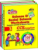 Perfect Genius English, Mathematics, Science & Social Science Worksheets for Class 3 (Based on Bloom's taxonomy)