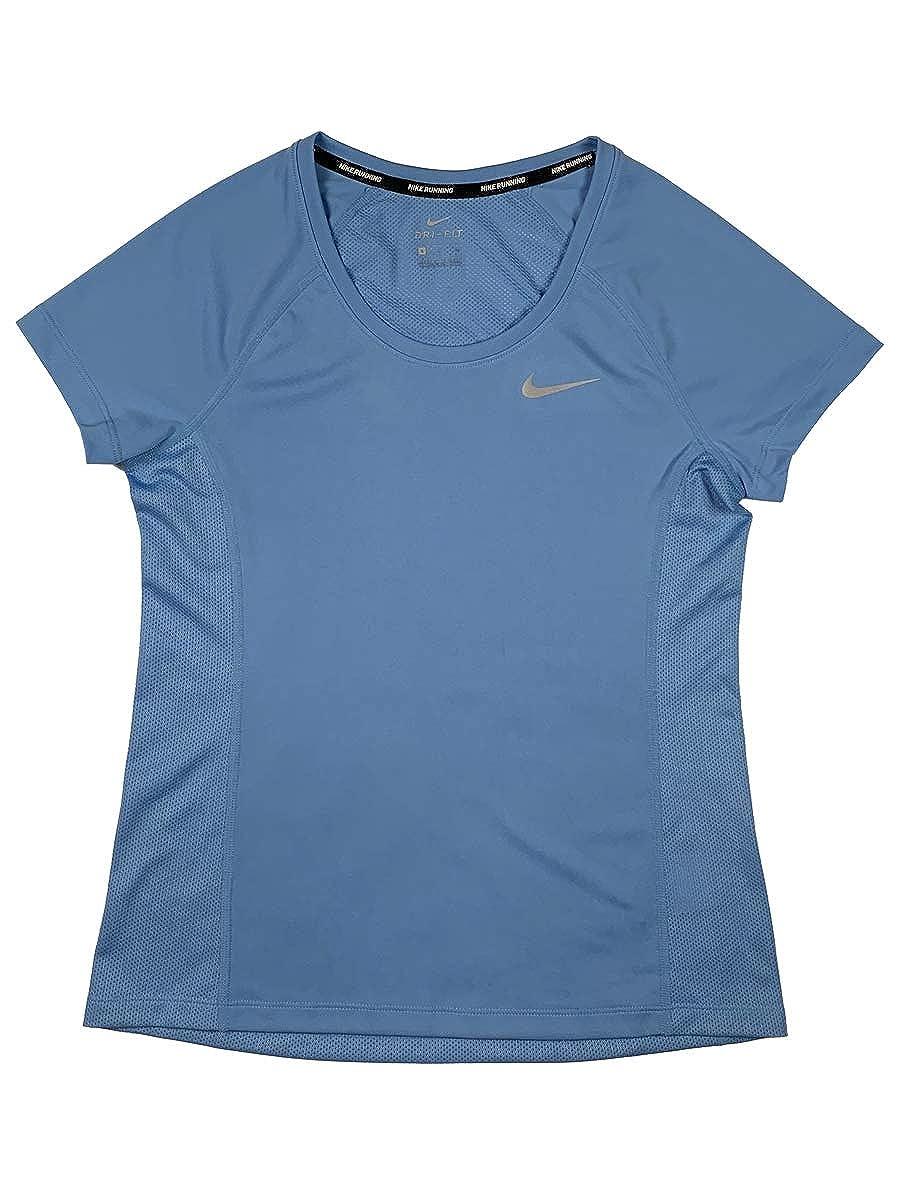84ce3a1de Nike Women's Dri-Fit Miler Running Crewneck Top at Amazon Women's Clothing  store: