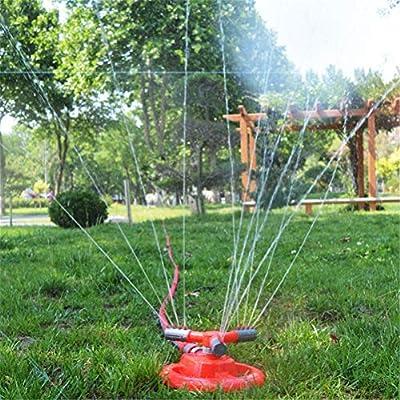 Dbtxwd Rociador de jardín Sistema de riego de rociadores de césped Giratorio de 360 ° Conexión de Manguera de rociadores oscilantes Riego de jardín para césped, Patio, jardín,40m: Amazon.es: Hogar