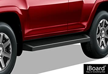 "FOR 10-19 TOYOTA 4RUNNER TRAIL EDITION//14-19 SR5 3/"" BLACK SIDE STEP NERF BAR"