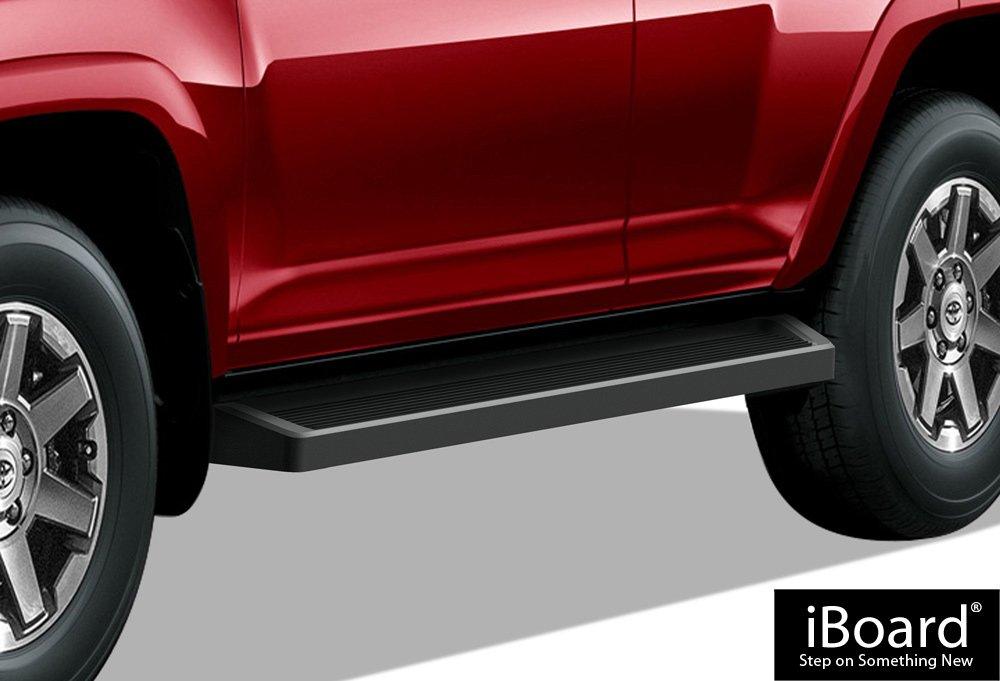 APS iBoard Black Running Boards Style Custom Fit 2010-2018 Toyota 4Runner Limited Sport Utility 4-Door & 2010-2013 SR5 (Nerf Bars | Side Steps | Side Bars)