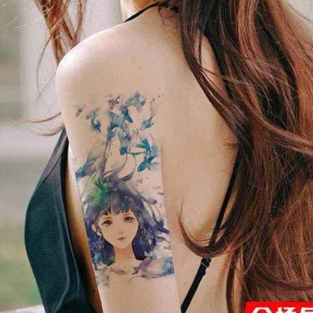 Handaxian Etiqueta engomada del Tatuaje 3pcs Gran Bruja Mexicana ...