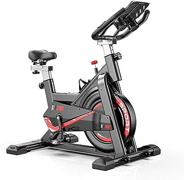 Zhipeng El Ejercicio aeróbico Interior de Bicicletas, 150KG portante, con el Soporte de la Tableta, Mute Bicicleta de Spinning for el hogar aparatos de Ejercicios, Cardio Bicicleta hsvbkwm: Amazon.es: Deportes y aire