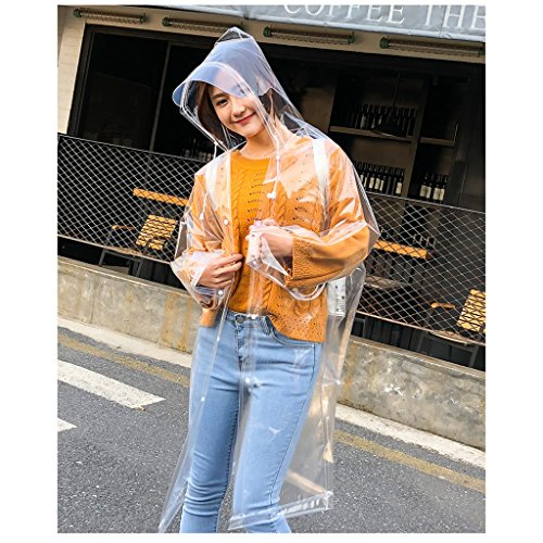 De Hembra Air Viaje Senderismo En edition Poncho Adulto Pesca Plein Transparente B Impermeable Raincoat Impermeable Mode IxCqw84x