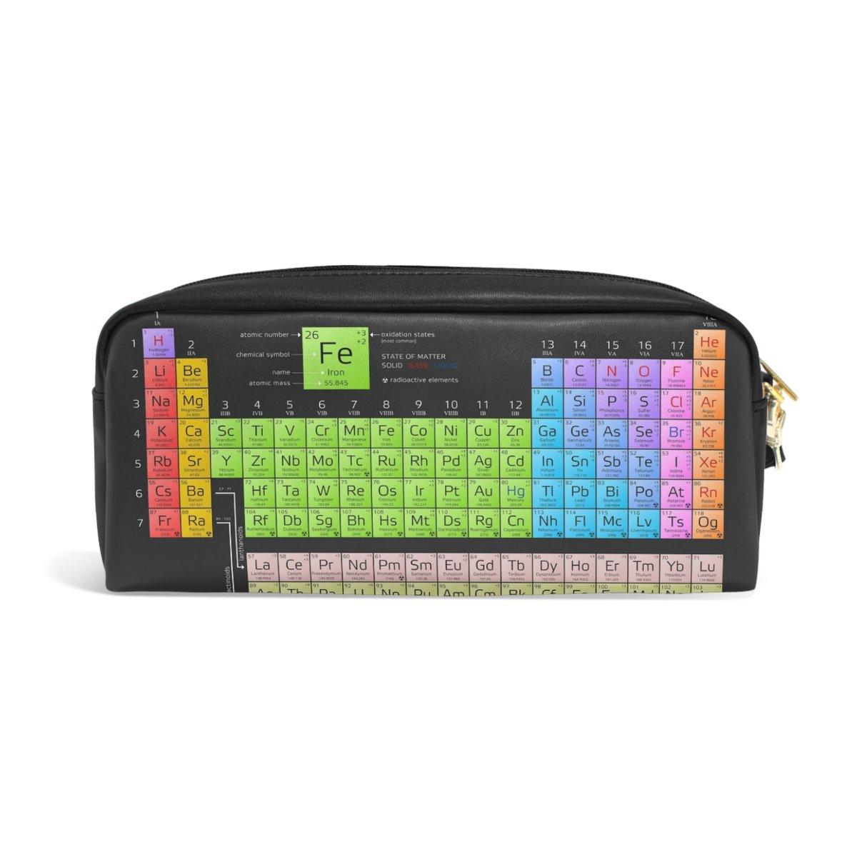 Amazon Mrmian Pu Leather Chemistry Periodic Table Pen Pencil