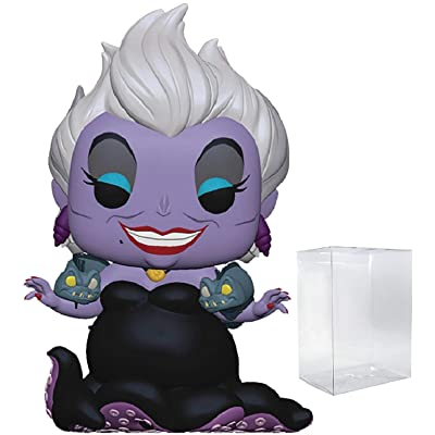 Disney Princess: The Little Mermaid - Ursula with Eels Funko Pop! Vinyl Figure (Includes Compatible Pop Box Protector Case): Toys & Games