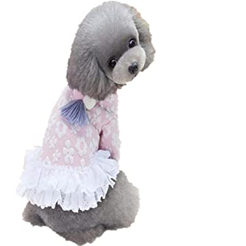 finest selection bed45 43239 Kleidung für Hunde, süßes Baumwollkleid für den Winter ...