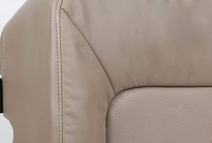 Driver Side Bottom Leather Seat Cover 2-Tone 2005 Ford Excursion EDDIE BAUER