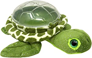 Plush Sea Turtle Snack Holder for Kids Girls Boys, 8 Inch