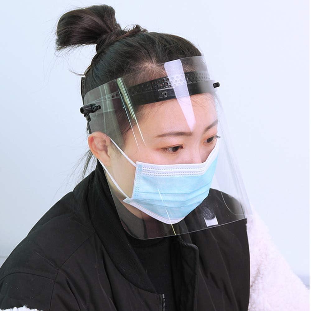Medizinischer Maske Schutz- und Multi-Funktions-Maske Antinebelmaske Klares Polycarbonat-Schutzschild