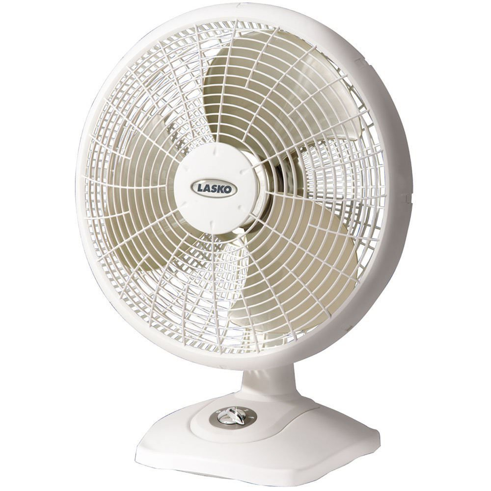 "Lasko 2506 16"" Performance Table Fan, White"