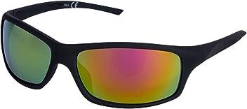"""SIX """"Sommer Unisex Sport Sonnenbrille, verspiegelt, gelb, schwarz (324-332)"""