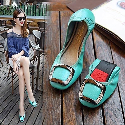 Été Doux Microfibre Mocassins pour Appartements Casual Fond Confort C HUAN Surface Printemps Mocassin Chaussures Femmes Doux Plat wfnqIS7