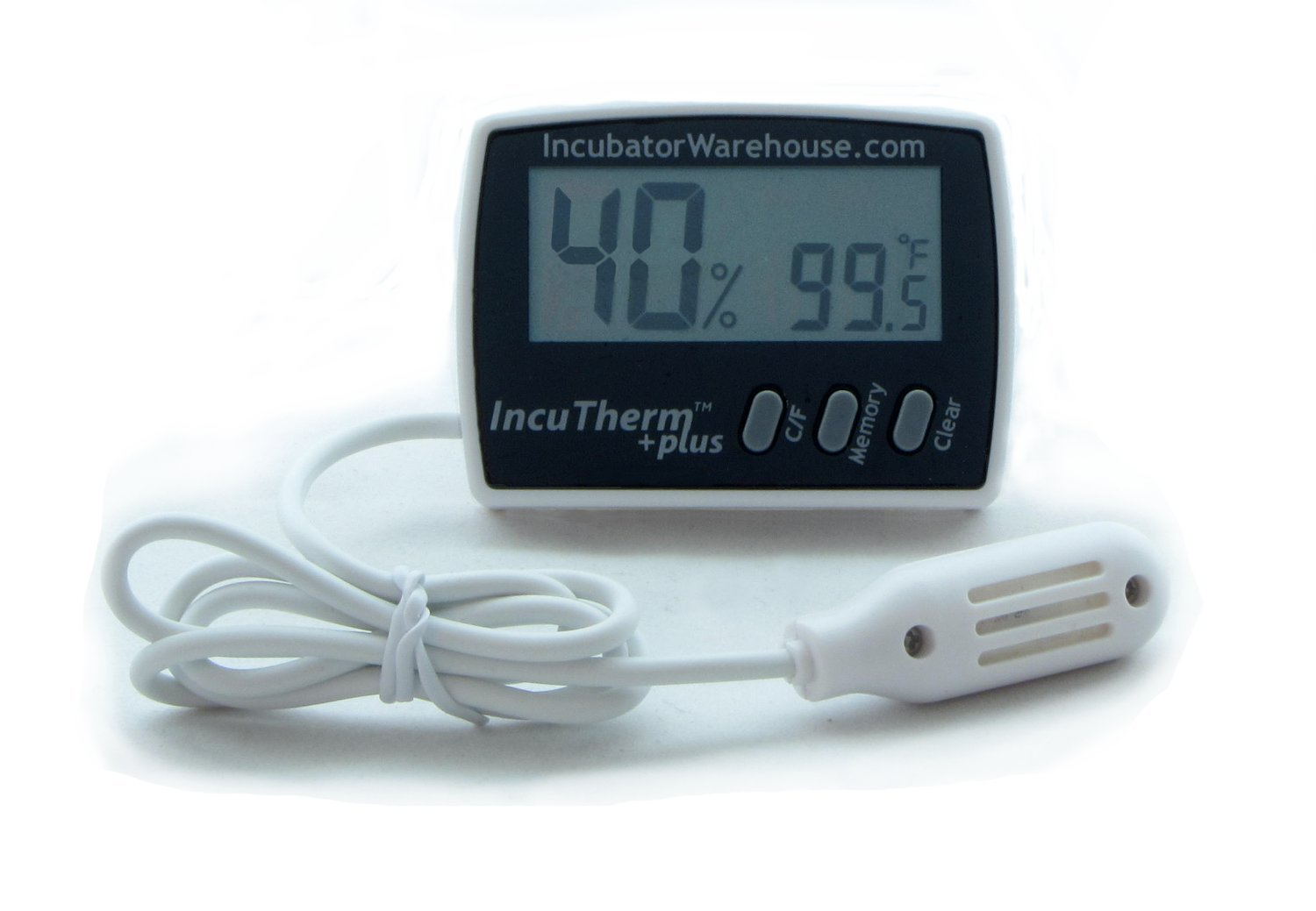 Digital Thermometer Hygrometer w Min/Max Memory & Remote Probe