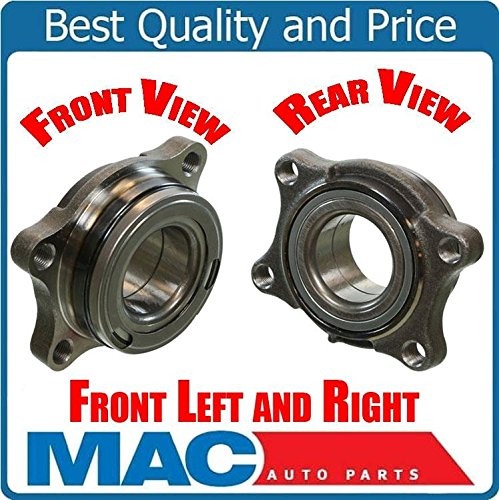 (Mac Auto Parts (2) 100% New Wheel Bearing Assembly Frt fits 04-06 Infiniti G35X AWD Models Only )