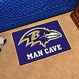 Baltimore Ravens Man Cave Starter Rug 19