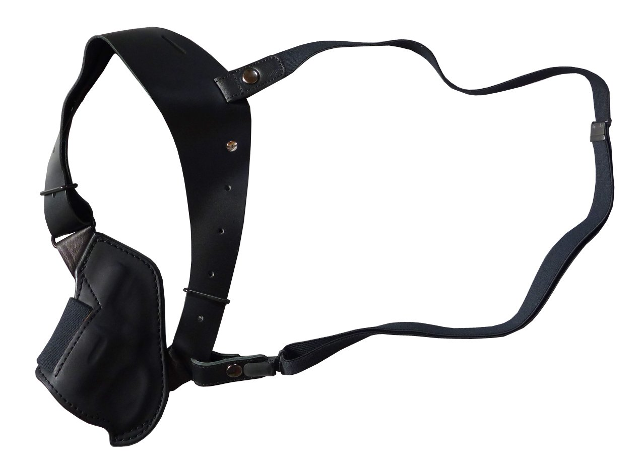 East.A アップサイドホルスター 牛革製ブラック No.291-BK チーフ/ボディガード用 B01BOSVU96