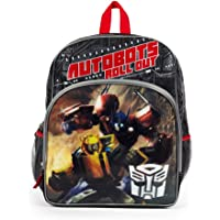 Transformers Autobots Roll Out Backpack with Side Mesh Pockets