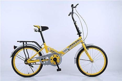 Sra Estudiante Portátil 20 Pulgadas Equipo De Ciclismo Plegables Bicicletas BMX Crucero De Carretera Montaña Híbridas Autoequilibriopaseo: Amazon.es: Deportes y aire libre
