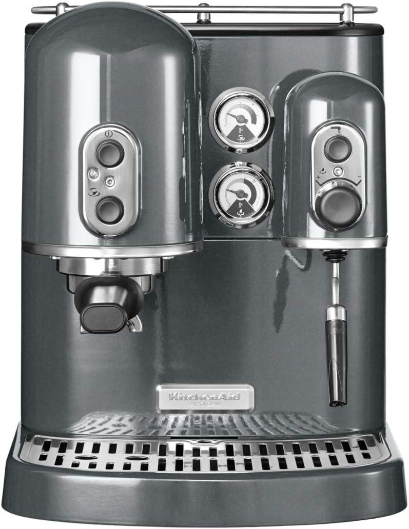 KitchenAid 5KES2102EMS - Cafetera de cápsulas, 1300 W, color gris ...