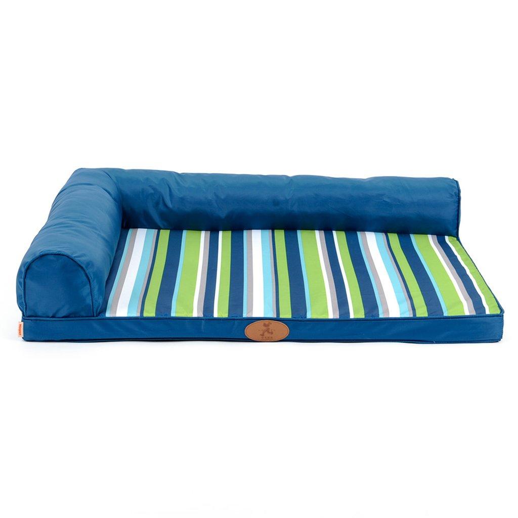 M Small tree Pet dog mattress sofa, large kennel washable, four seasons universal pet nest, easy care dog mat (Size   M)