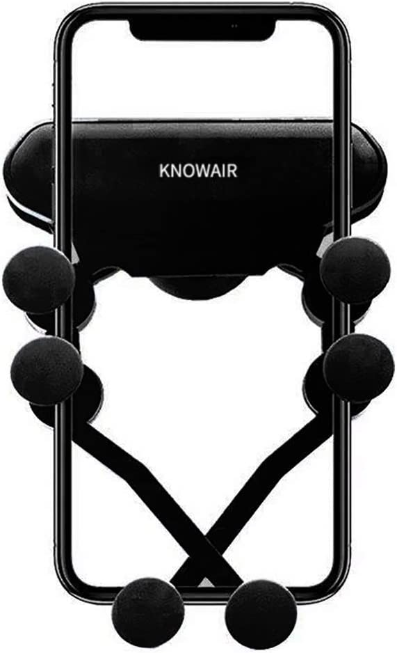 Samsung Car Phone Mount,Phone Holder for Car,KNOWAIR Anti-Slip Phone Holder Compatible with iPhone Android Smartphones