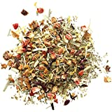 Monsuri - Strawberry & Basil Organic Flavoured Fruit Infusion Tea | 100g Pouch (40 servings) of Loose Leaf Tea | An Aromatic Gentle Tea with a Creative Twist.