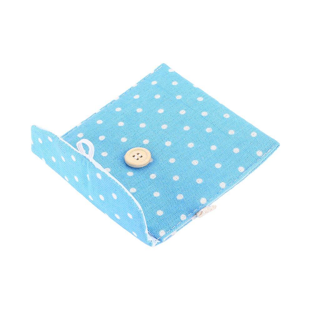 Hongch Paquete de 2 Ligera Señora de lino servilleta sanitaria Toalla Pad Pequeño mini bolsos de la bolsa del caso: Amazon.es: Hogar