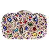 Fawziya Bling Luxury Clutch Purse Handbags Womens Evening...