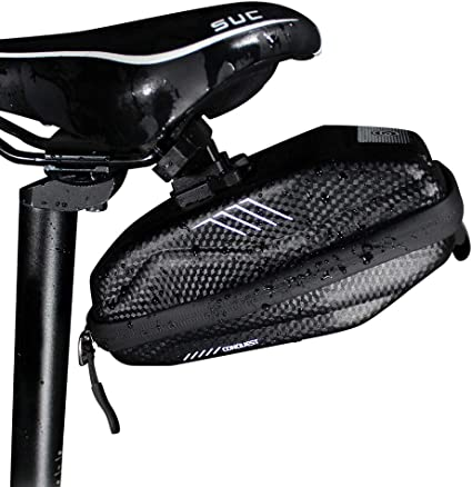MTB Bike Bicycle Saddle Bag Under Seat Bag Storage Tail Pouch Cycling Rear Pack